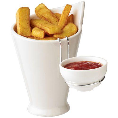 Porte frites et porte sauce
