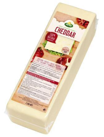 Arla Cheddar natural 45+ en barra