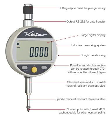 Precision Dial Gauges | digital | metric / inch