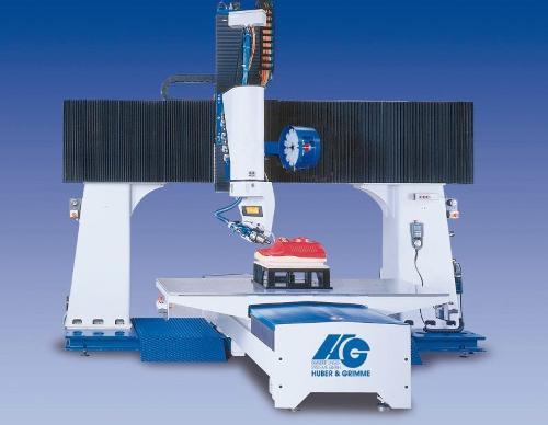 5-Achsen-Portalfräsanlage P-S-F(10-10) Kunststoffbearbeitung