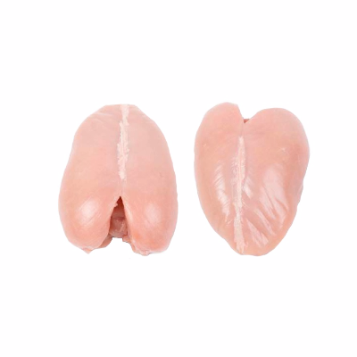 Whole Breast, Bone-in, Without Skin