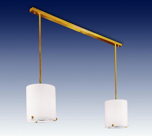 Double pendant light