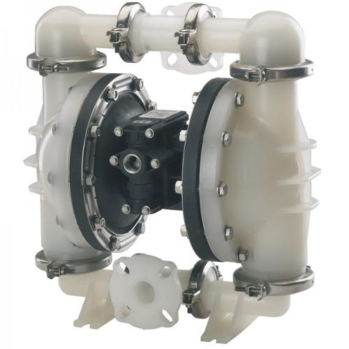 "Double diaphragm pump 1 1/2"" made of PP (PTFE version)..."
