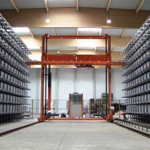 Transtockeur TEC'UP pour tubes acier