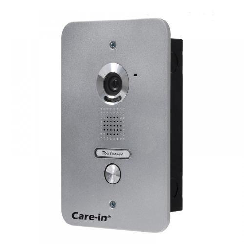 Interphone vidéo avec vision nocturne - A encastrer -...