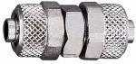 Straight connector, for hose 12/10 mm, AF 17