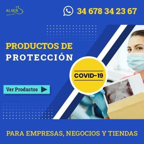 Productos de protección frente al covid-19