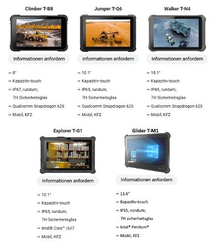 Rugged Tablet-PCs
