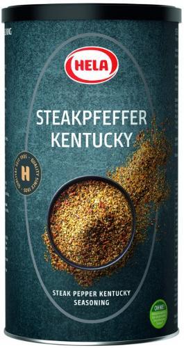 Hela Steak pepper Kentucky 850g. Pan-fried pieces. Spices.
