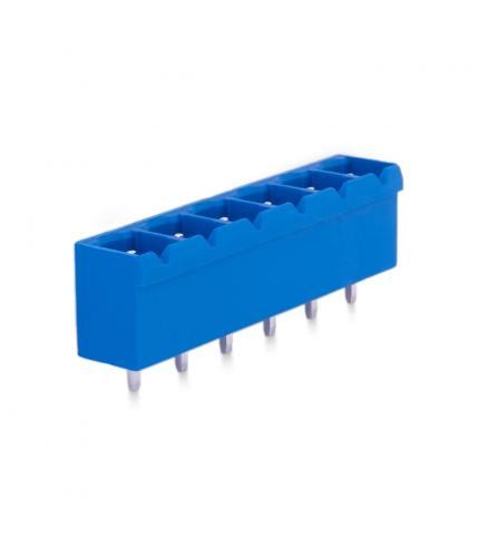 7,62mm Socket Terminal Male 180° - 6 Pins