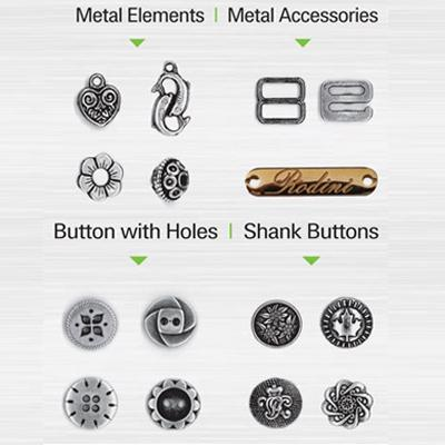 Buttons metal