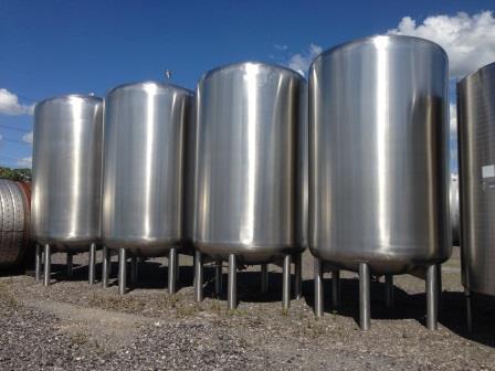 Used Stainless Steel Tanks