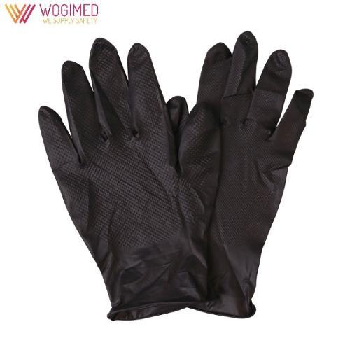Black Nitrile Gloves Disposable