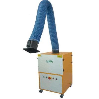 Extractor de humos manual