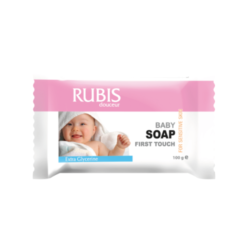 Rubis 100 Gr Individual Baby Soap Flow Pack