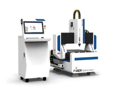 CNC Portal Milling Machine T-Rex Servo-0609 CNC Wood Router