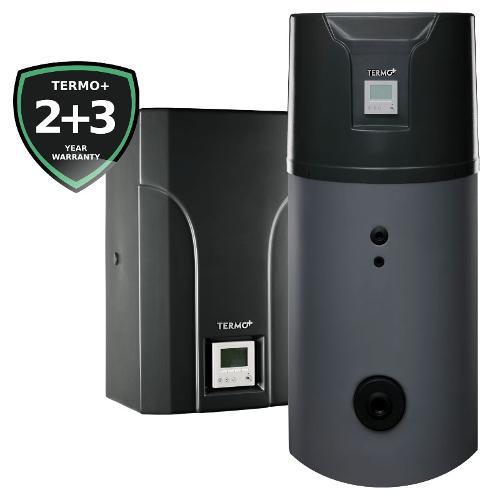 Hybrid air source heat pumps