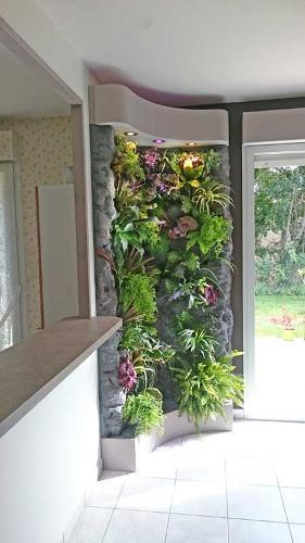 mur végétal sur mesure