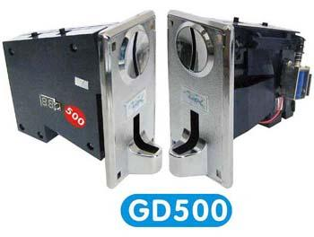 [GD] 500 múltiples monedero validador, 5 de aceptación