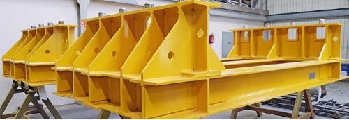 Stålkonstruksjoner for skipsverft- og off shore bransjen