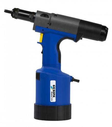 FireFox® 2 F L hydro-pneumatic blind rivet nut setting tool