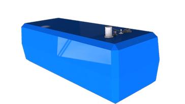 Depósito de agua para barcos de 130 litros