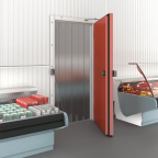 Hinged Fireproof Refrigeration Door