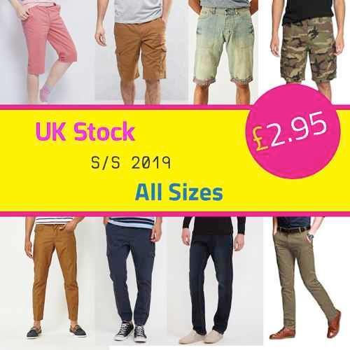Brandneue Herren Sommerbekleidung ANGEBOT UK