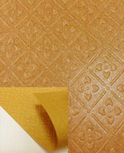 Упаковочная структурированная крафт бумага