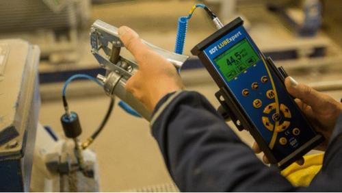 Monitoraggio ultrasonoro lubrificazione cuscinetti