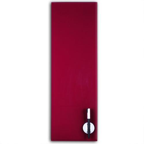 Glas Magnettafel 60x20cm Farbe: Pflaume