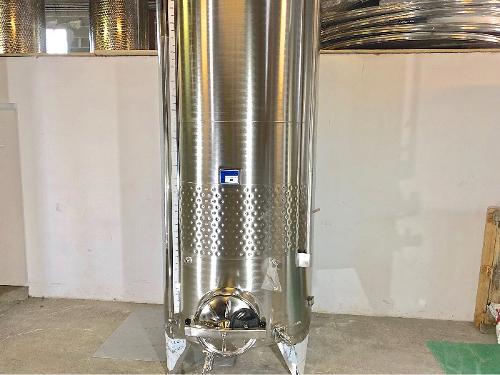 Tanque de aço inox 304 - 28 HL