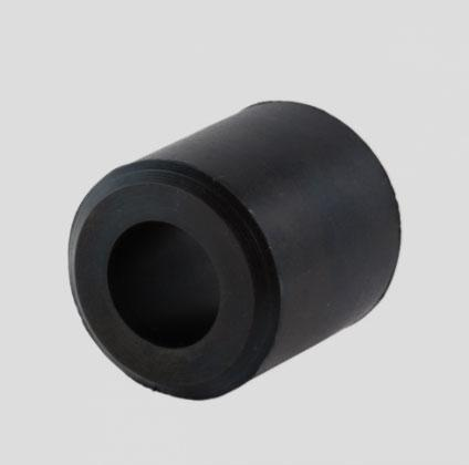 Rubber bumpers, dampers and vibration dampers