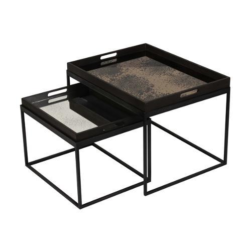 Notre monde - Set de petites tables rectangulaires