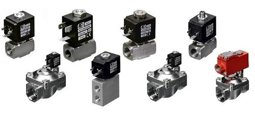 Stainless steel solenoid valves