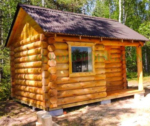 Домики из дерева