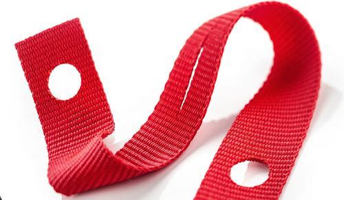 Webbing as release strap