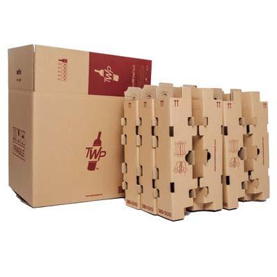Cajas de cartón para botellas de vino
