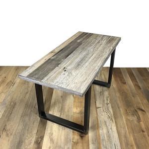 Grey sun burned table