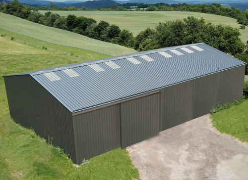 Bâtiment Galva Structure + Couverture Et Bardage