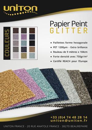 GLITTER - Papier Peint Pailleté