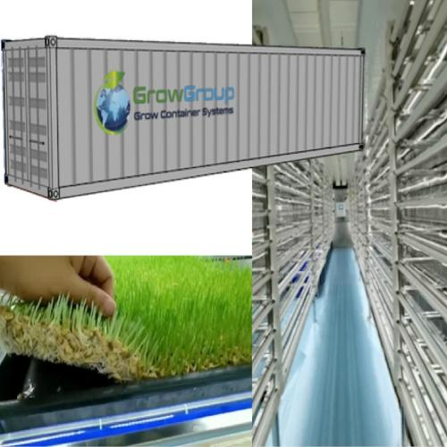 Grow Container Systems GCS 40HQ - Fodder