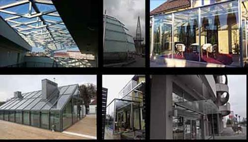 Glas-Dächer, und -Überdachungen, Wintergärten