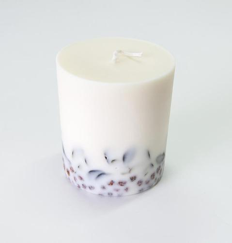 "Ashberry & Bilberry Leaves, Scented Soy Wax Candle ""5..."