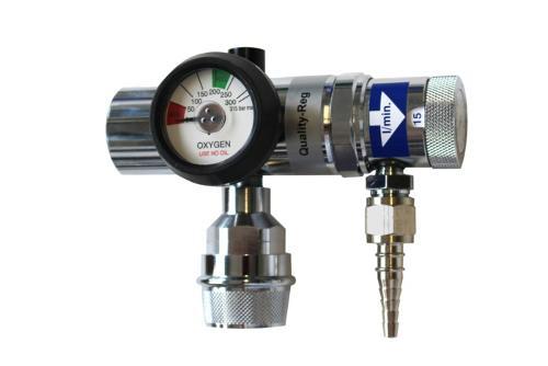 Druckminderer für Sauerstoff und andere nicht korrosive Gase