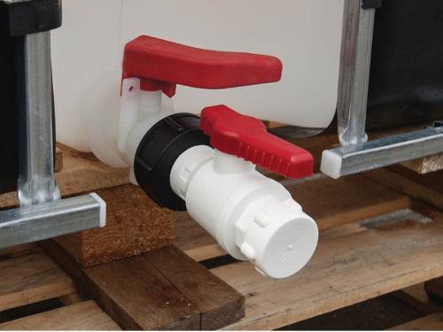 Спускной кран IBC с угловым носиком