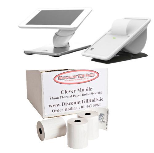 Clover Mobile Till Rolls | Clover Mobile Printer Rolls