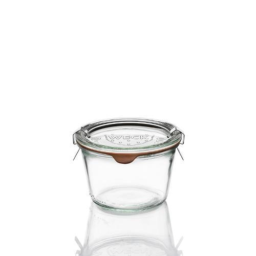 6 vasi in vetro Weck Droit 370 ml