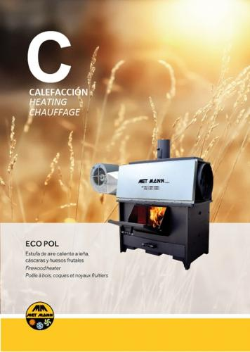 Estufas de leña industriales - EP