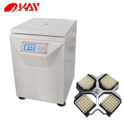 Floor Standing Large Volume Blood Plasma Gel Card Centrifuge